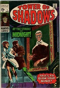 Tower of Shadows Marvel! 1st Issue Vol.1 1969! Horror!