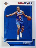 2019-20 Panini NBA Hoops RJ Barrett Rookie RC #201, New York Knicks