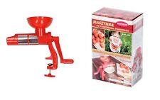 Tomatenpresse Handpresse Gemüßepresse Passiergerät Tomatenschneider + GRATIS