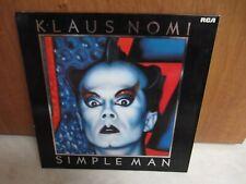 Klaus Nomi - Simple man (LP) 12 tit + poch intérieure 1984 FRANCE