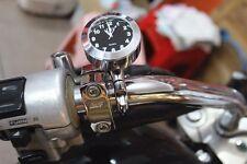 Motorcycle Waterproof Handlebar Mount Clock For Moto Guzzi MV Agusta Twist-N-Go