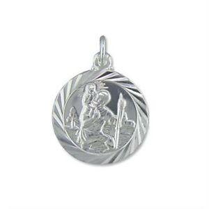 Silver St Christopher Pendant & Chain