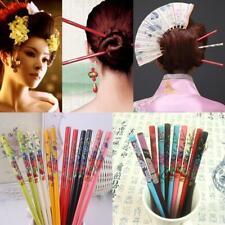 Chinese Styles Women Girl Vintage Wood Hairpins Hair Sticks Pins Chopstick