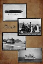 Dirigible : Steampunk Blank Note Book (2014, Paperback, Enlarged, Large Type)