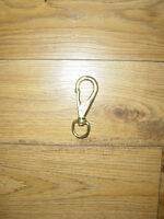 HEAVY DUTY No 2 SWIVEL SNAP HOOK ( NAVAL BRONZE )