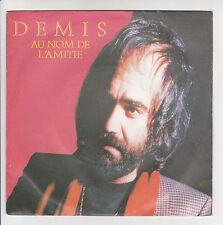 DEMIS ROUSSOS Vinyl 45T AU NOM DE L'AMITIE - WE'RE SHINING -MERCURY 6000798 RARE