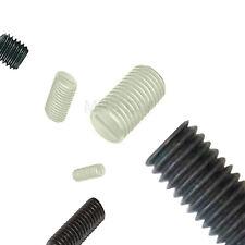 100 x Negro Nailon M4 8mm 4mm Plástico PRISIONERO Tornillos Set de Conector