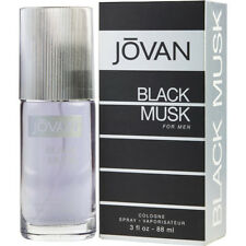 NEW JOVAN BLACK MUSK EAU DE COLOGNE FOR MEN WITH FREE WORLDWIDE SHIPPING - 88 ML