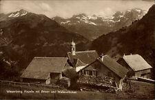 Wiesenberg Dallenwil Schweiz Obwalden Nidwalden ~1930 Kapelle Kirche Brisen Berg