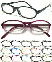 L186 Simple Style Plastic Reading Glasses Various Color Unisex Lightweight Specs