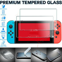 For Nintendo Switch Genuine 100% TEMPERED GLASS Screen Protector Cover uk ilo