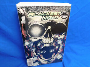 Blackest Night #1 1st Print Superheroes DC Comics (2009) Green Lantern