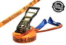 Classic Slackline-SET - 50mm-larga 15m lungo Arancione-Made in Germany
