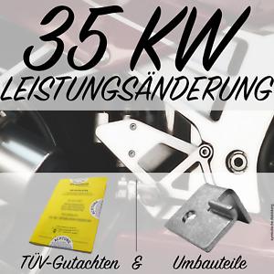 35KW 48PS DROSSELSATZ Suzuki GSX750 AE  LEISTUNGSREDUZIERUNG A2 + TÜV  🏍 ❗
