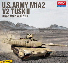 1/35 U.S ARMY M1A2 V2 TUSK II  / Academy Model Kit / #13504