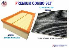 AF5701 C25864 ENGINE & CARBON CABIN AIR FILTER COMBO For 07-12 NISSAN Sentra 2.0