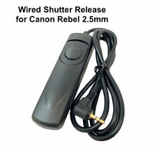 Wired Shutter Release for Canon Rebel 2.5mm T6 T5 T5i T4i T3i T3 T2i T1i XT XTi