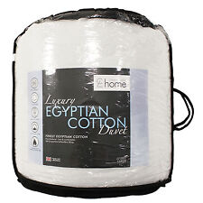 Catherine Lansfield Superking Nonallergenic Egyptian Cotton Duvet Quilt 15 Tog 260 x 220cm