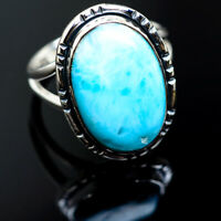 Larimar 925 Sterling Silver Rings 7.25 Ana Co Jewelry R984994F