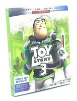 Toy Story 3  (Blu-ray+DVD+Digital Code, 2019; Multi-Screen Ed.) NEW w/ Slipcover