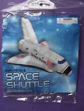 "New! 14"" Inflatable White Vinyl Space Shuttle"