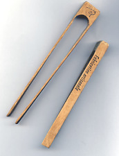 """PINCE""""RB"""" BOIS petit modèle fabrication artisanale pour TOAST,CORNICHONS,OLIVES"""