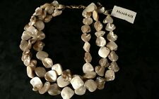 Haskell shell necklace stunning pretty jewelry not signed has tag ladies womens