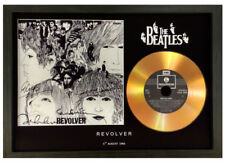 THE BEATLES 'REVOLVER' SIGNED GOLD DISC DISPLAY