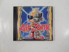 RARE COMPLETE TURBO GRAFX 16 AIR ZONK VIDEO GAME HUDSON SOFT 1992 TESTED W/CASE