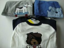 GYMBOREE Pirate Dog Skateboarding Dog Bulldog Gymmies Pjs Pajamas Boy Size 8