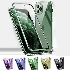 Hülle iPhone 12 11 / Pro / Max Mini - Magnet Handy Tasche Schutzhülle Case Etui
