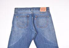 Levis 506 Hommes Jeans Bleu Taille 36/32, Véritable