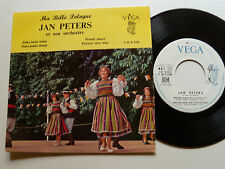 """JAN PETERS orch: Ma belle Pologne - 7"""" EP 1960 French VEGA 2105 Polish folk"""