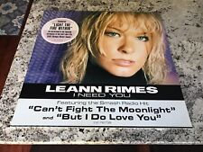 I Need You - LeAnn Rimes RARE ORIGINAL FOAM CORE POSTER 24X24 PROMO ONLY