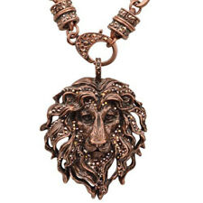 Kirks Folly Aslan Lion King Pendant Charm Magnetic Interchangeable Necklace ct