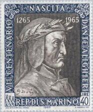 SAN MARINO - 1965 - Poet & Writer - Dante Alighieri (1265-1321) - MNH - #622
