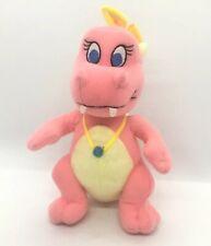 "Cassie Dragon Tales Live 6.5"" Plush Sesame Workshop Stuffed Beanbag - Free Ship"