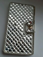 Samsung Galaxy Note 3, Rhinestone, Cover Case, Silver, with 1 X screen protector