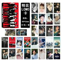 New 30pcs set Kpop IKON collective BOBBY B.I KimJinHwan Lomo Card