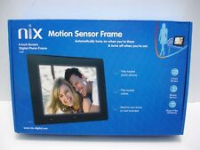NEW NIX X08D 8 INCH SCREEN MOTION SENSOR DIGITAL PHOTO FRAME