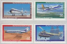 Germany (Berlin) 1980 Youth Welfare (Aviation) Set UM SGB589-92 Cat £4.75