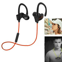 Sports Stereo Wireless Bluetooth 4.1 Earphones Headphones Headset For Phone PC