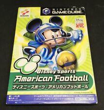 Disney Sports American Football For Japanese Gamecube **USA SELLER**