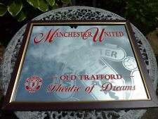 LARGE ADVERTISING MANCHESTER UNITED OLD TRAFFORD THEATRE OF DREAMS MIRROR CAVE
