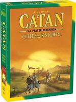 Catan: Cities and Knights 5-6 Player Extension SEALED UNOPENED FREE SHIPPING