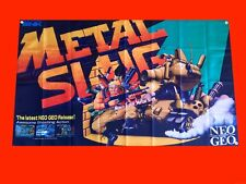 LARGE Metal Slug Arcade Video Game Banner Flag Poster FREE SHIPPING