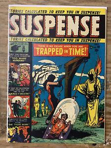 Suspense #10/Golden Age Atlas Comic Book/Russ Heath/VG+
