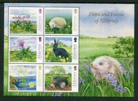 Alderney 2015  ** / MNH - Yvert -   Correo 527/532 MH Flora y fauna (6 sellos s