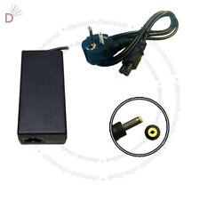 Laptop Charger For HP PAVILION DV1000 DV6000 65W 65W + EURO Power Cord UKDC
