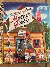 VINTAGE 1970's Children's Little Golden Book~THE LITTLE GOLDEN MOTHER GOOSE
